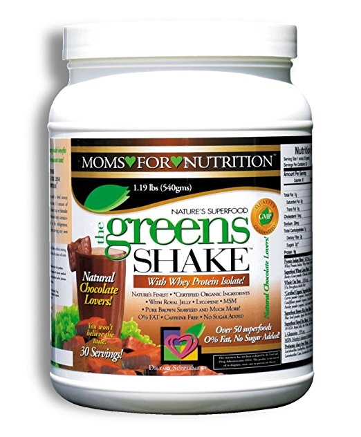 The Greens Shake Chocolate Flavor