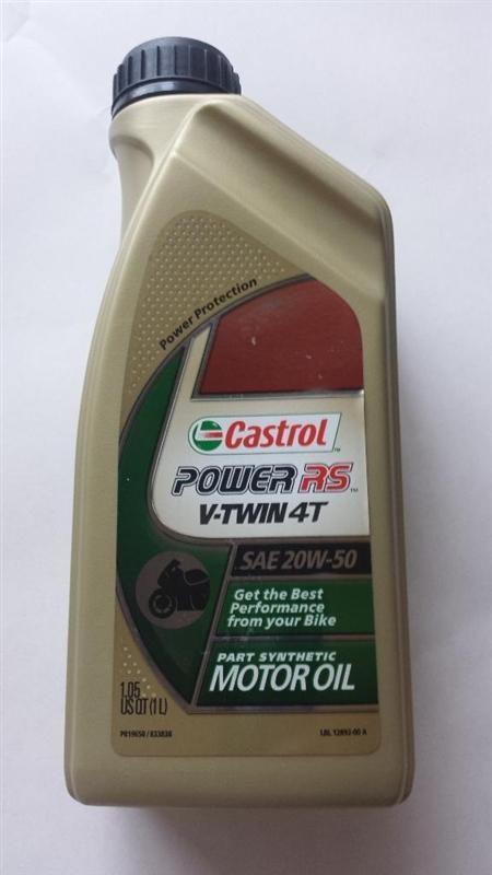 Castrol Power RS V-Twin Oil 20W-50