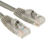 15M Network CAT5e Patch Lead Moulded Grey