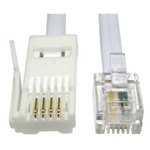 RJ-11 To BT Plug (straight) 5M