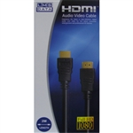 2M HDMI Cable M-M Gold ver1.4 Retail