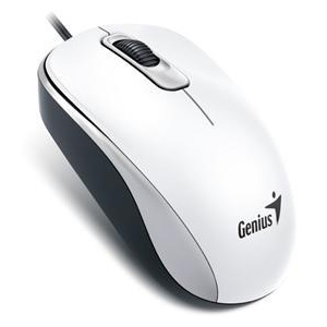 Genius USB 1000dpi Optical Mouse (DX-110) White