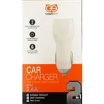 2.4A Dual USB Car Charger with Type-C Cable