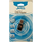 Jedel Nano 600Mbps Dual Band Wireless USB Adapter