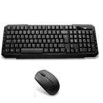 EZ-Touch Wireless Keyboard and Mouse Combo Set (Black)
