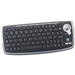 Rio Mini Wireless Keyboard with Built-in Track Ball