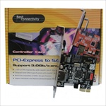 PCI-Express SATAII 1 Internal & 1 External eSATA Port