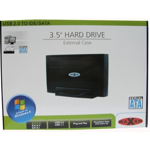 3.5 Inch USB2.0 SATA/IDE HDD Enclosure