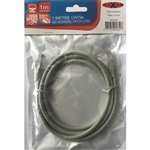 MAXAM 1M Network CAT5e Moulded Patch Lead
