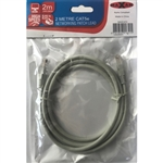 MAXAM 2M Network CAT5e Moulded Patch Lead