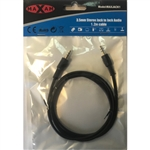 MAXAM 1.2M 3.5mm Jack - Jack Stereo Cable