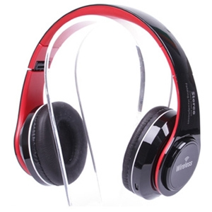 Vanguard LED Colour Changing ST-424 Bluetooth Headphone Red