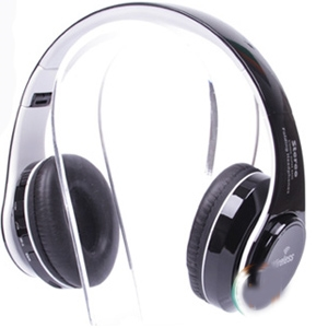 Vanguard LED Colour Changing ST-424 Bluetooth Headphone White