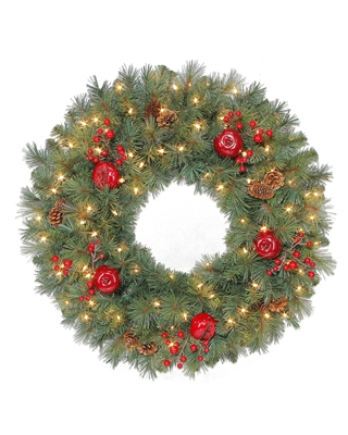"30"" Sable Fir Christmas Wreath"