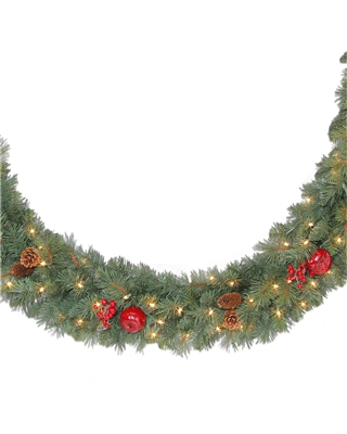 "9x12"" Sable Fir Christmas Garland"