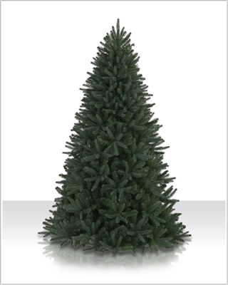 9 Foot Unlit Sophia Springs Spruce Christmas Trees