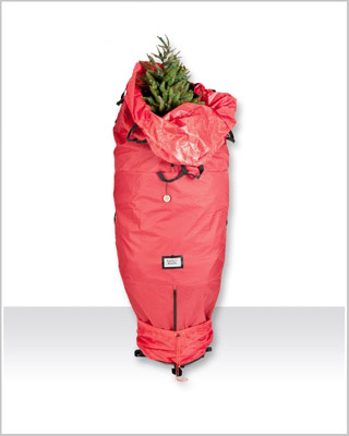 Santa's Upright Christmas Tree Storage Bag