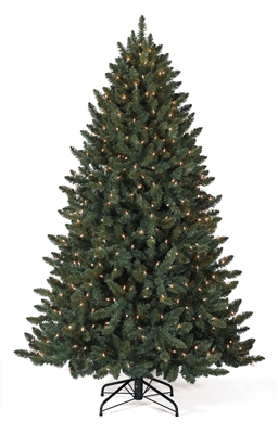 4 Foot Balsam Spruce Christmas Tree With Clear Lights