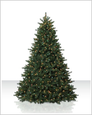 9 Foot Douglas Fir Christmas Tree with Multi Lights