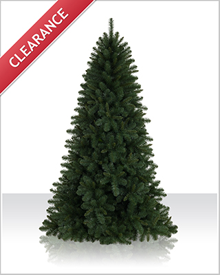 7 Foot Unlit Fraser Fir Artificial Christmas Tree