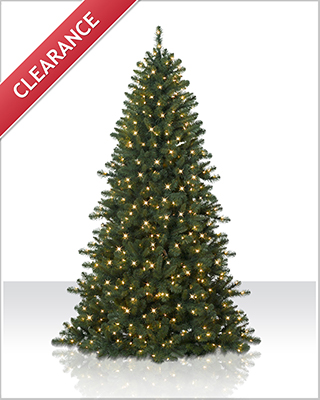 7.5 Foot Fraser Fir Clear Christmas Tree