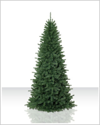 9 Foot Unlit Emerald Fir Artificial Christmas Tree