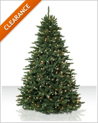 5.5 Foot Pre lit Eastern Spruce Artificial Christmas Tree