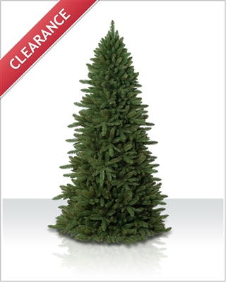 8 Foot Unlit Sierra Slim Unlit Christmas Tree