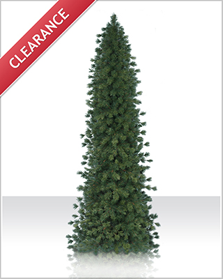 6.5 Foot Pre lit Glitter Pine Artificial Christmas Tree