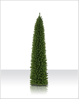 7.5 Foot Unlit Ticonderoga Pencil Christmas Tree