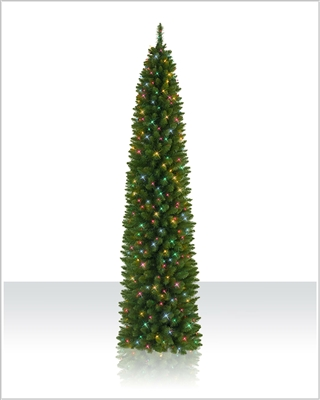 6 Foot Pre lit Ticonderoga Artificial Christmas Tree