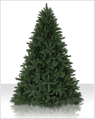 7.5 Foot Unlit Alberta Spruce Evergreen Artificial Christmas Tree