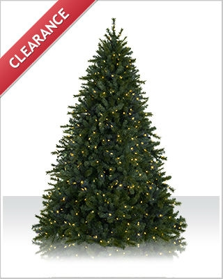 6.5 Foot Pre lit Main Street Clear LED Christmas Tree