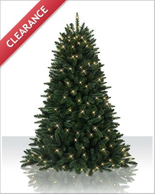 5 Foot Swiss Pine Clear Christmas Tree