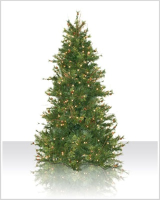 6.5' Slim Mixed Country Pine Tree