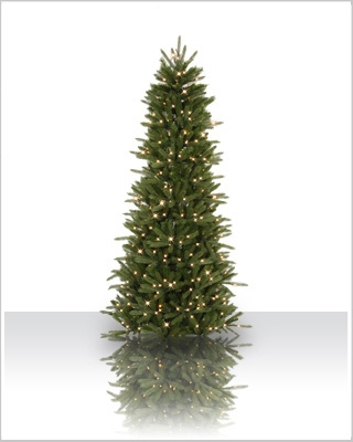6.5 Foot Pre lit Vermont Frasier Fir Artificial Christmas Tree