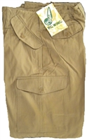 Khaki Tactical Cargo Pants