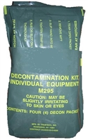 M295 Individual Equipment Decontamination Kit