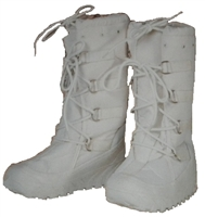 White Snow Boots