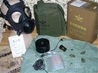 Korean K1 Gas Mask Kit