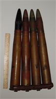 WW2 Bofors Projectiles on Clip