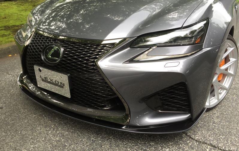 Black Qx70 >> LEXON GS F Front Lip Spoiler Carbon