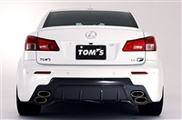 TOM'S IS F Carbon Rear Bumper Diffuser