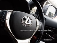 Grazio & Co. Lexus Solid Emblem Base for Airbag
