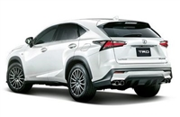 TRD NX Sports Muffler and Rear Diffuser SET