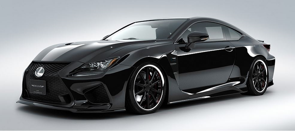artisan spirits rc f 6 piece body kit