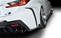 ROWEN RC F Rear Bumper Extension Carbon