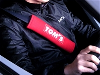 TOM'S Japan Seat Belt Shoulder Pad Set