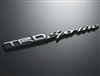 TRD Sportivo Rear Emblem Chrome