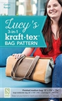 Lucy's 3-in-1 kraft-tex or Cork Bag Pattern